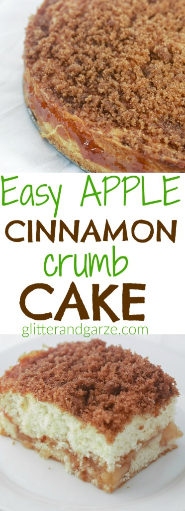 easy apple cinnamon crumb cake