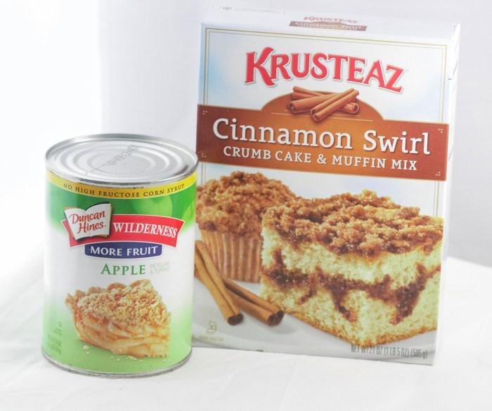 Easy Apple Cinnamon Crumb Cake