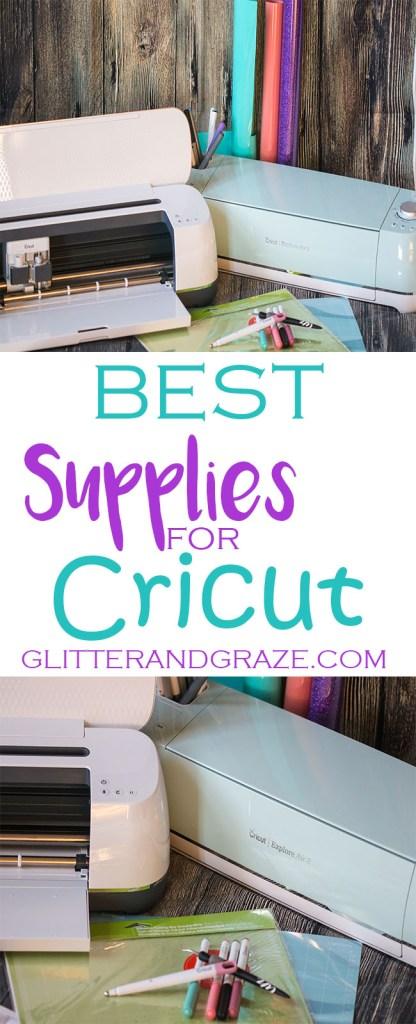 best supplies for cricut