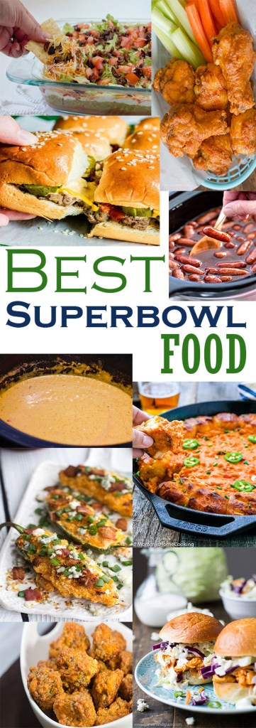 the best superbowl party food