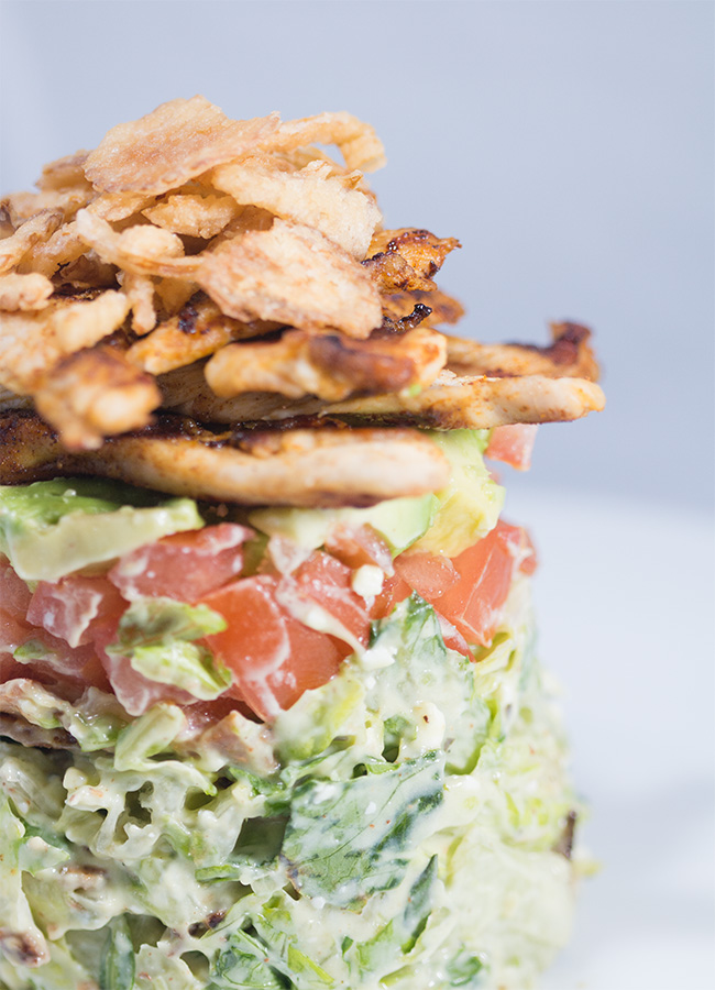 stacked cobb