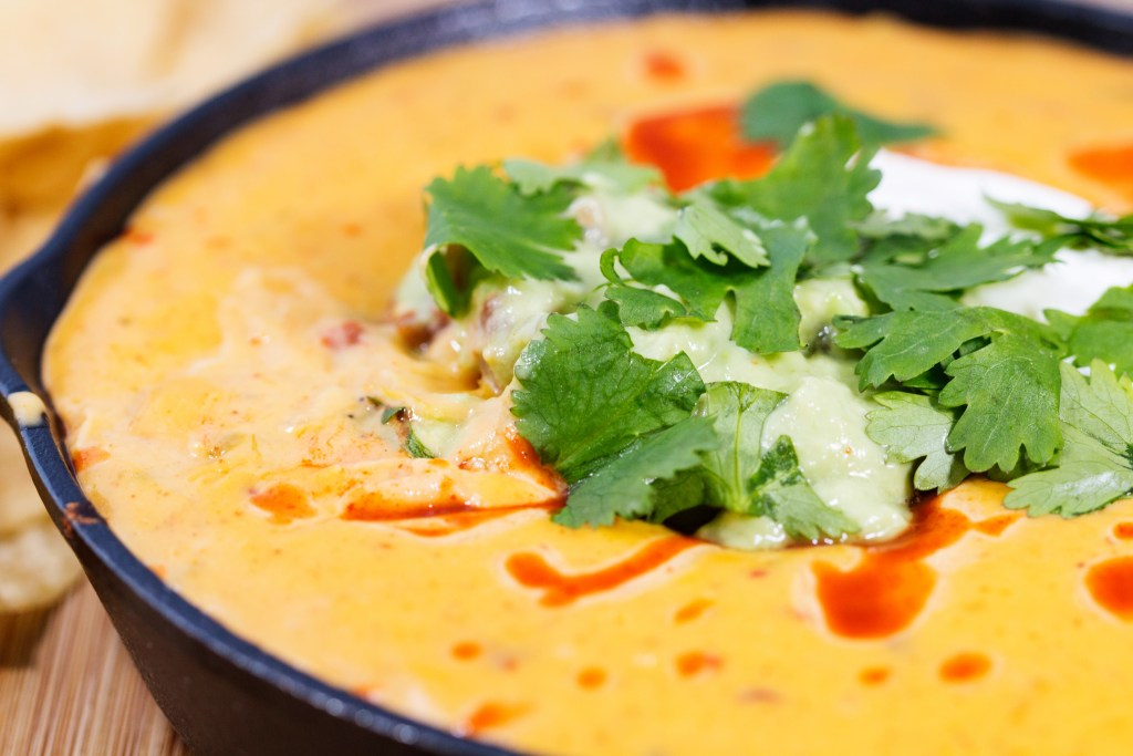 loaded queso