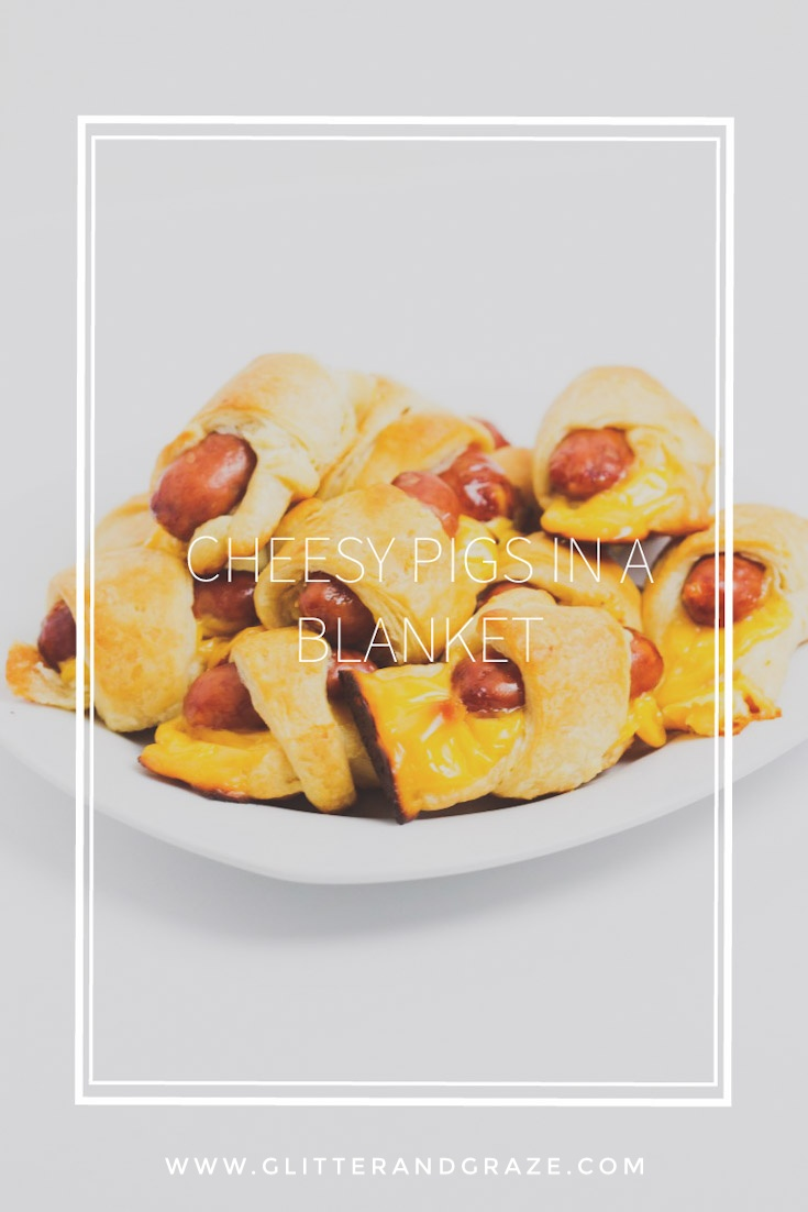 Cheesy Pigs In A Blanket Glitter And Graze