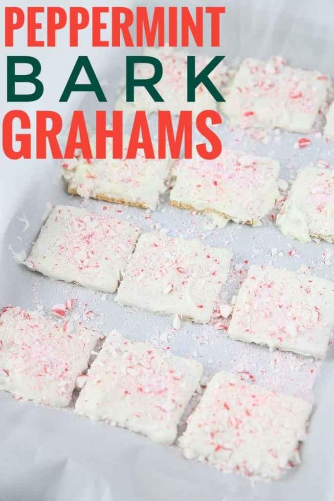 Peppermint Bark Grahams