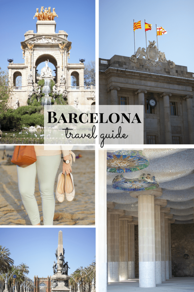 Barcelona Travel Guide- where to eat, what to do, where to stay