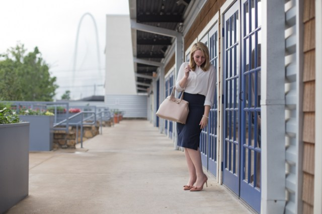 How to dress girly and feminine for work