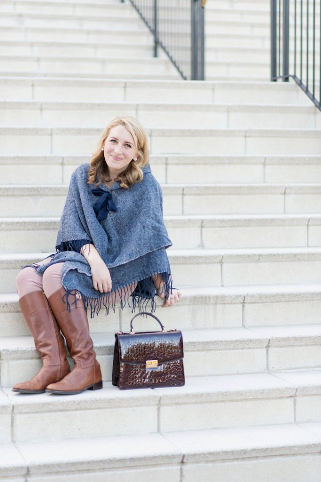 How to Layer a J.Crew Sweater