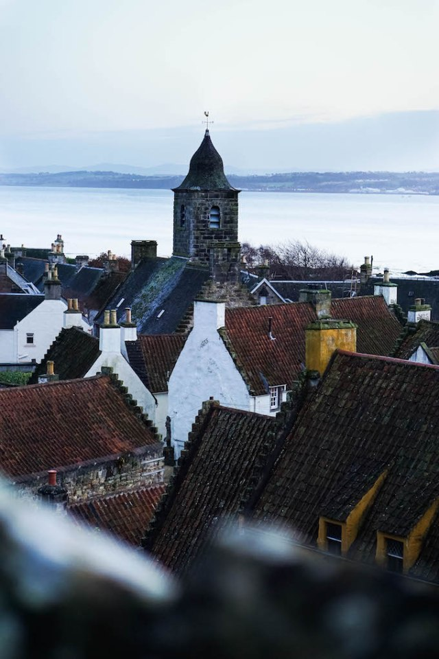 Culross Scotland, town near Edinburgh, where to go on a day trip from Edinburgh