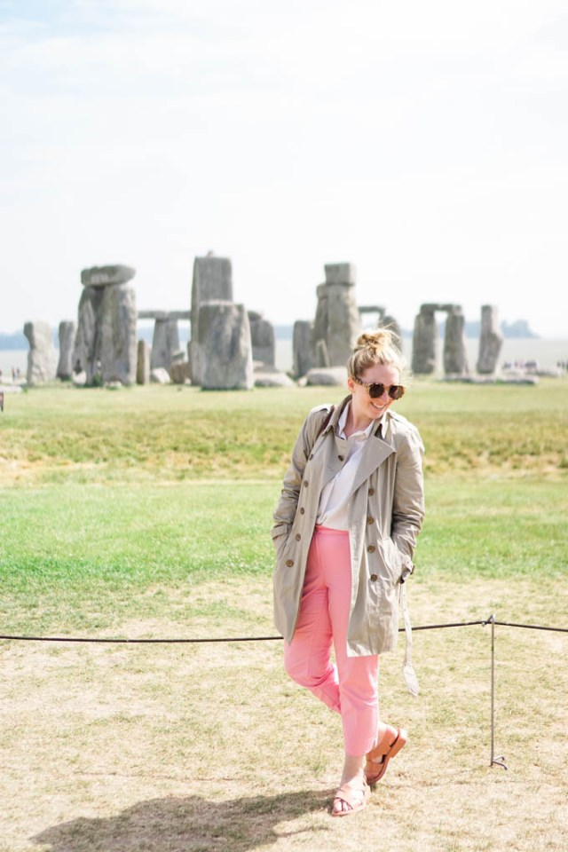 Comfiest Shoes to Wear for a Summer Trip to Europe | What to Pack for a Summer Trip to Europe | What to Bring for a Summer Trip to London via travel and style blog, Glitter & Spice