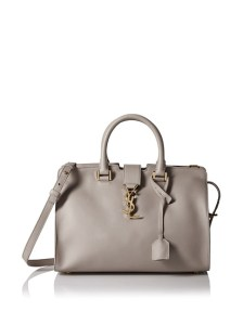 Small Monogram Cabas Bag, Fog