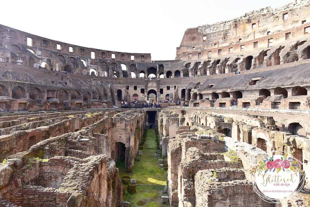 colosseum - Vatican inside - Glittered with Design Blog - #glitteredwithdesign