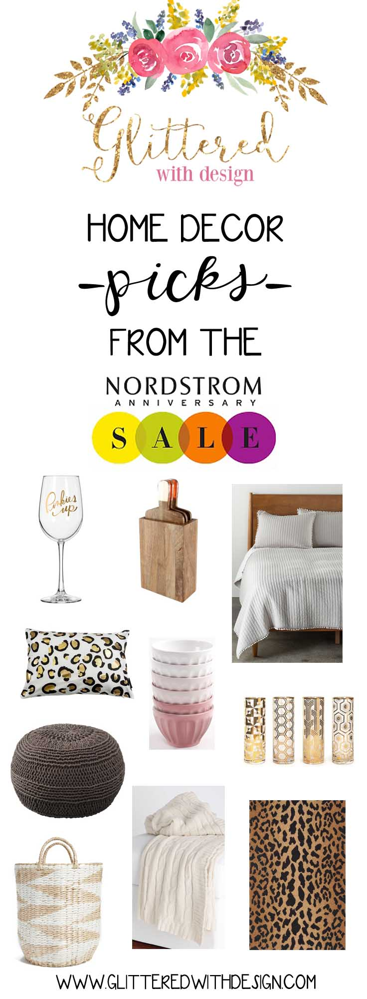 nordstrom sale home items - Glittered with Design