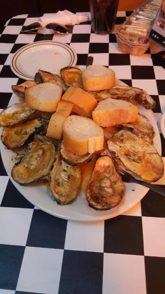 Acme Oyster Grill - Chargrilled Oysters