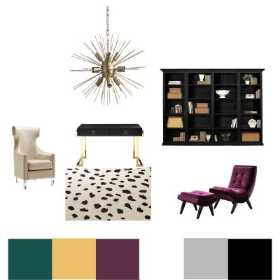 Office Makeover – Creating a glam designer office space