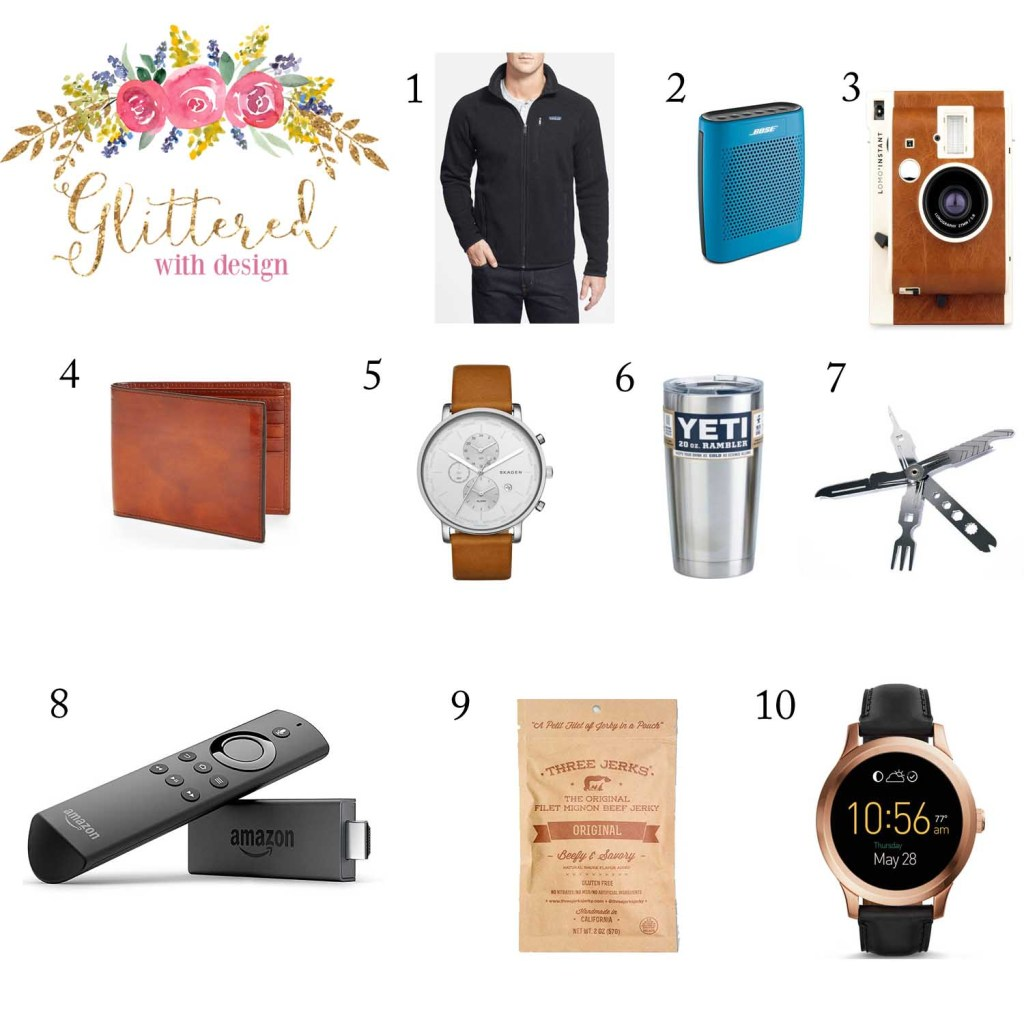 holiday gift guide men