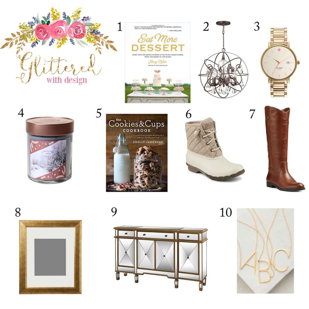 Glittered with Design Holiday Gift Guide - My Favorite Things