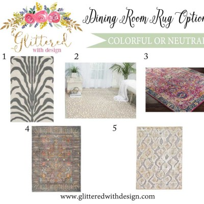 Rugs for the Dining Room