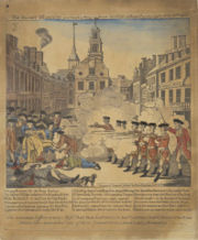 The Boston Massacre was a street fight that occurred on March 5, 1770