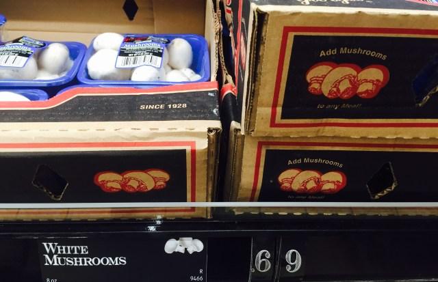 ALDI mushroom sale
