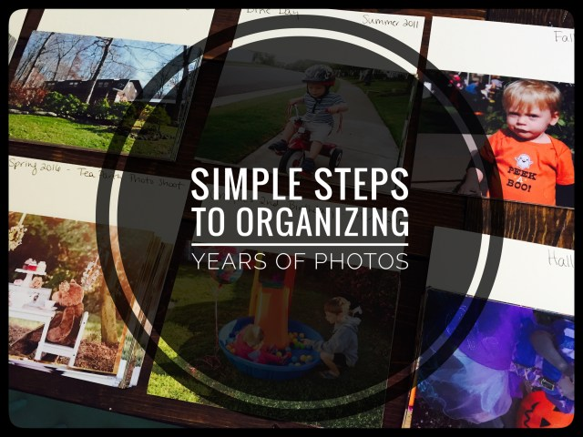 Simple Ways to Organize Years of Photos for Scrapbookers