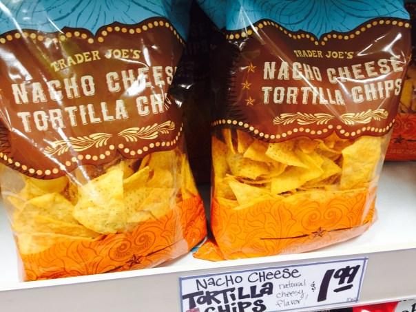 Nacho Cheese Tortilla Chips from Trader Joe's