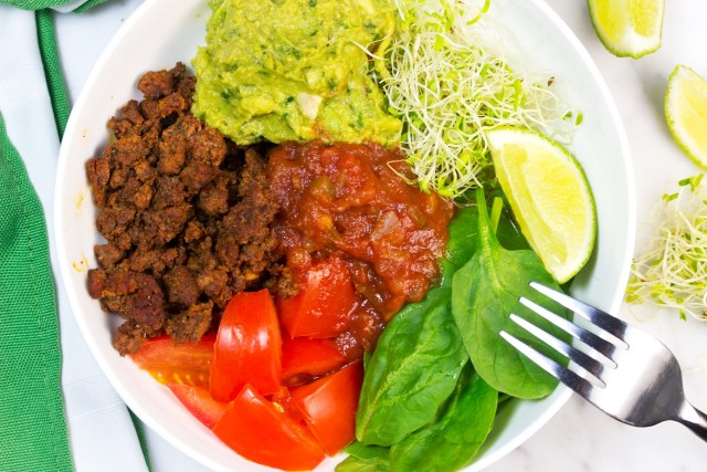 Skinny Low Carb Taco Bowls for the Whole 30