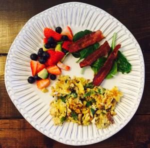 Day 19 breakfast