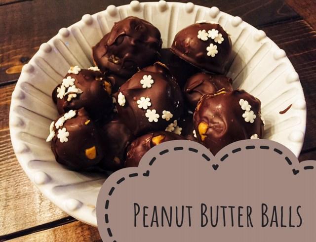 Clean Eating Peanut Butter Balls