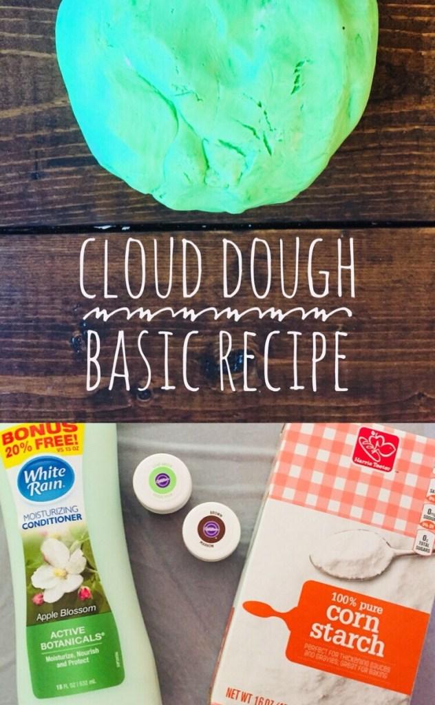 Fluffy Cloud Dough Recipe Glitter On A Dime