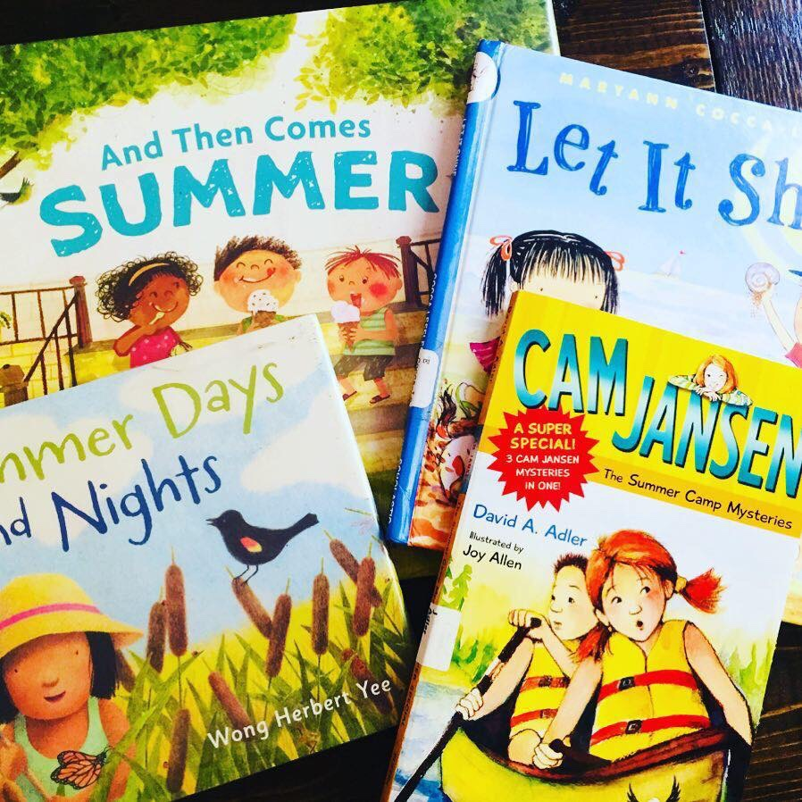 Childrens Books about summer