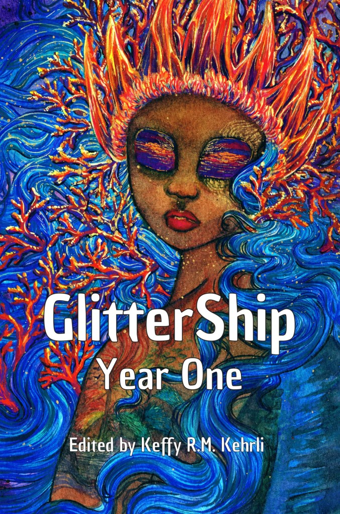 Cover art for GlitterShip Year One.