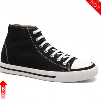 High Neck Mens Height Increasing Shoes To Increase Height Taller 6cm / 2.36 Inches