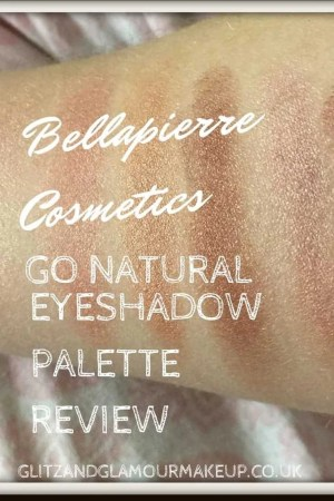 bellapierre cosmetics go natural eyeshadow palette review