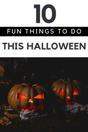 10 fun things to do on halloween