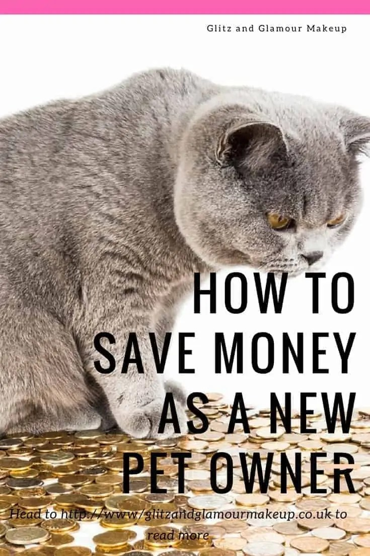 how to save money as a new pet owner
