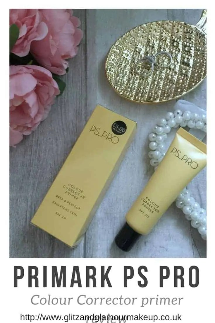 primark makeup ps pro colour corrector primer review