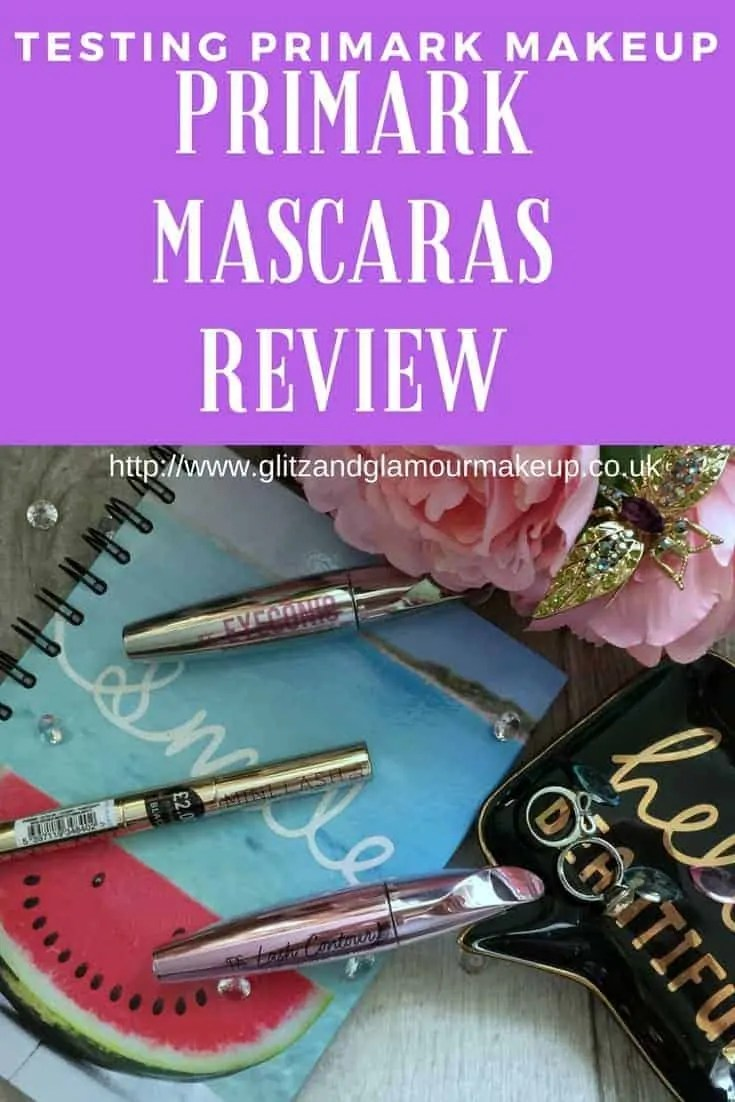 testing primark makeup primark mascaras review