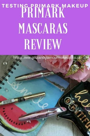 testing primark makeup primark mascaras review