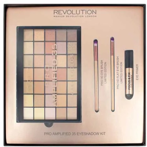 the ultimate gold eyeshadows that you need to add to your collection makeup revolution pro amplied naked golds palette
