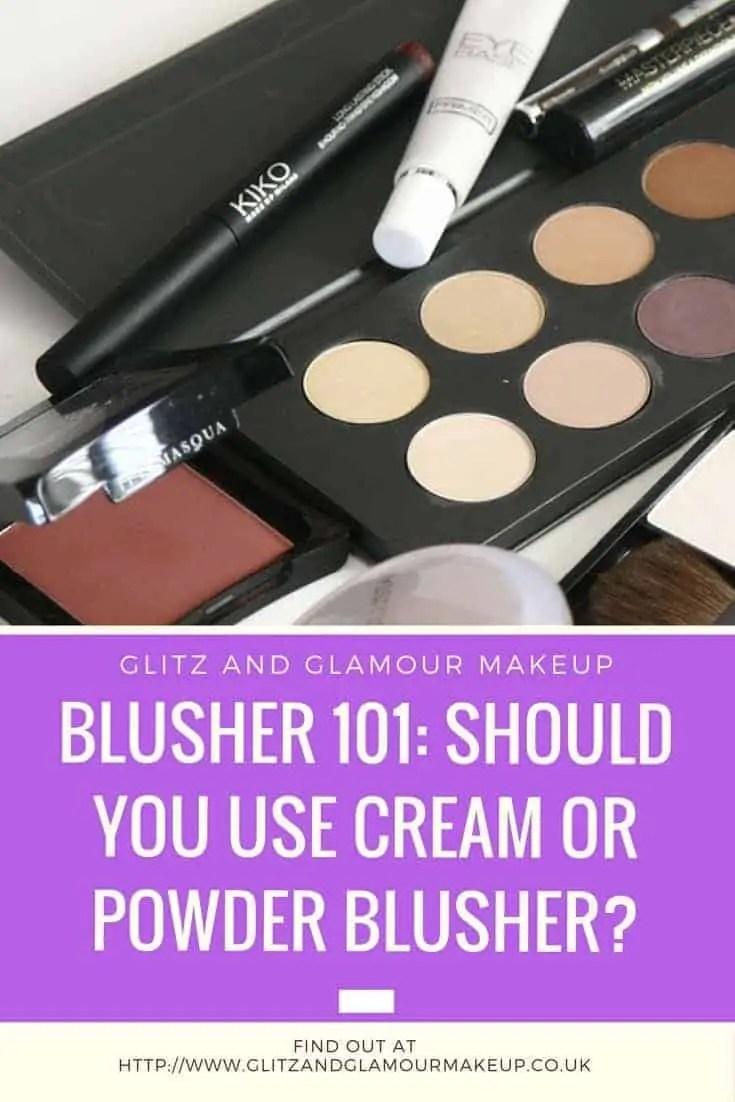 blusher 101 should you use cream or powder blusher