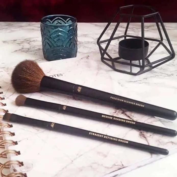 h&m precision brushes