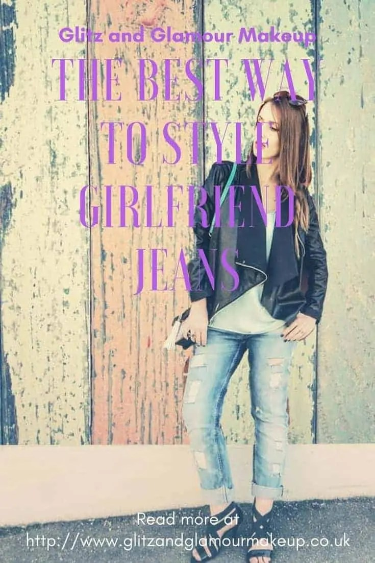 the best way to style girlfriend jeans