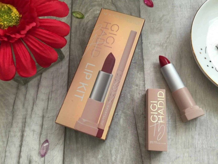 Get big full lips with Maybelline Gigi hadid Lani lip kit