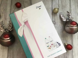 Last minute budget friendly Secret Santa gifts for her from B&M dove ever blossom collection