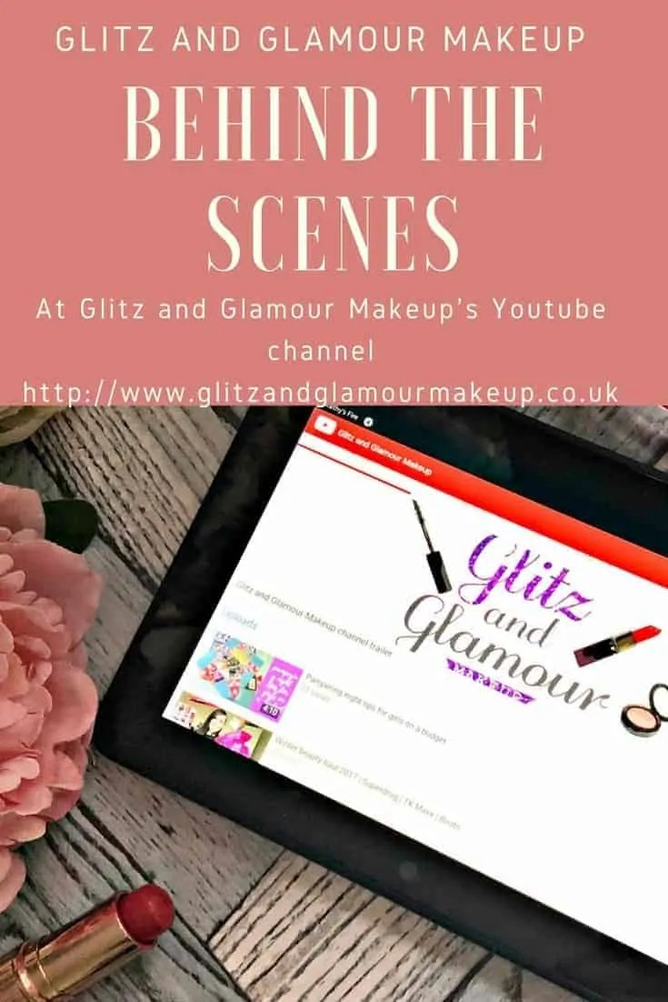 behind the scenes at glitz and glamour makeup youtube channel