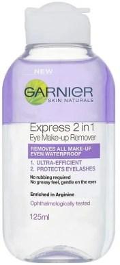 fabulous beauty bargains for under £10 garnier express 2 in 1 eye makeup remover
