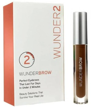 how to get perfect brows without going to the salon wunderbrow 1 step brow gel