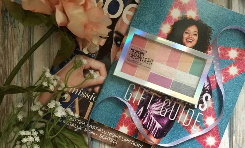 maybelline the city kits urban light eyeshadow palette review