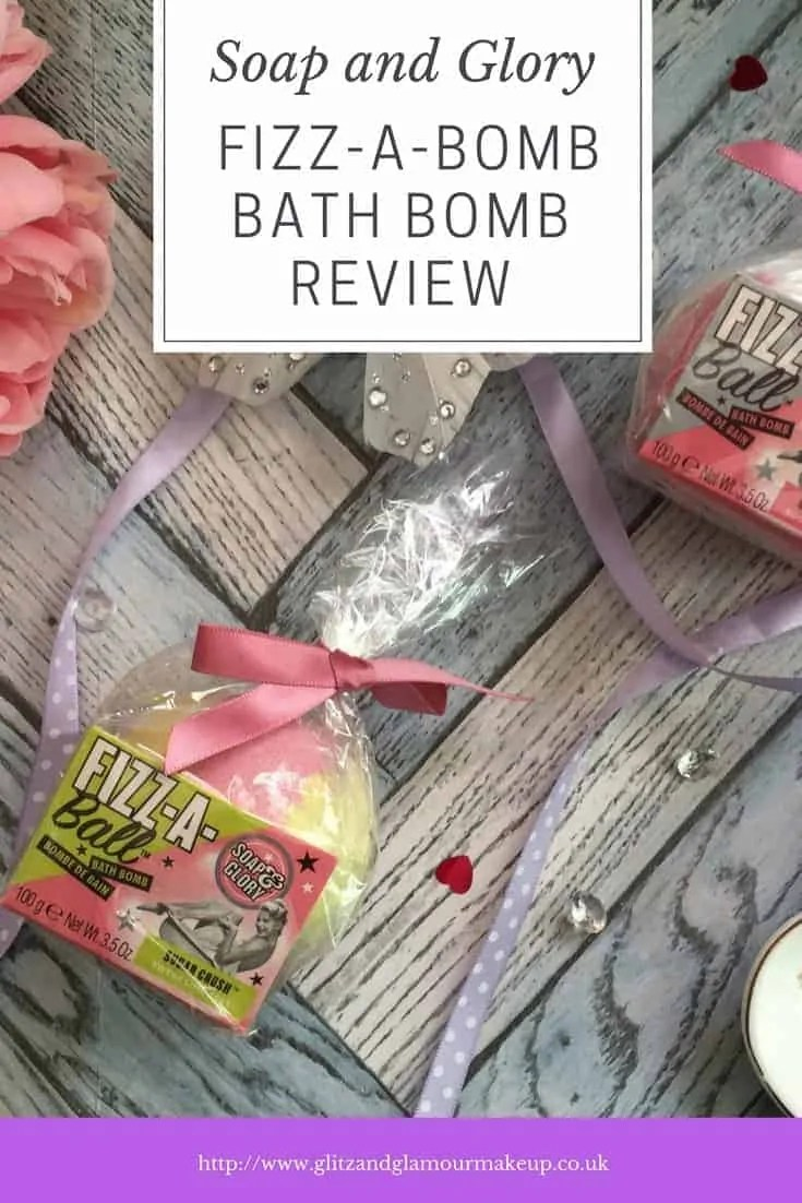 soap and glory fizz a bomb bath bomb review