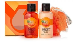 some of the best beauty stocking fillers body shop satsuma treats